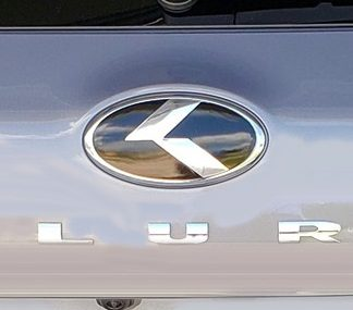 kia telluride stick on badge emblem