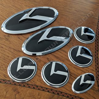 kia 3.0 logo klexus badge emblem for telluride