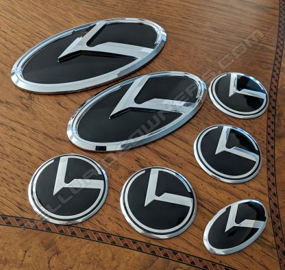 kia 3.0 logo klexus badge emblem for telluride