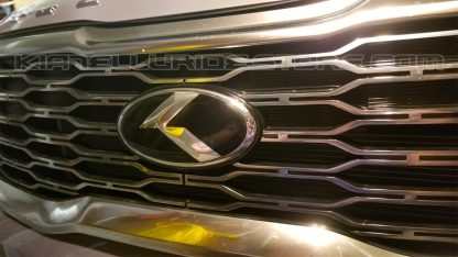 loden metal skin for kia telluride front grille