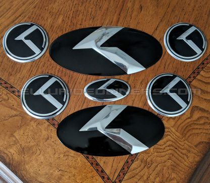 kia 3.0 logo klexus emblems for the telluride