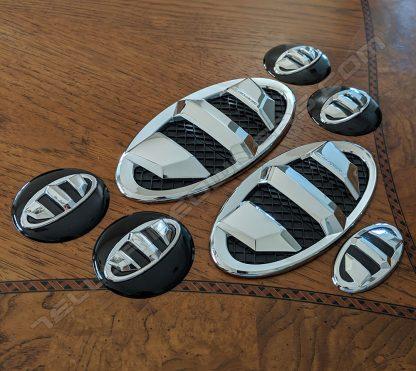 brenthon emblem badge set for kia telluride