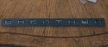 brenthon black chrome lettering for kia telluride