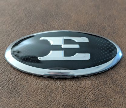 kia e steering wheel badge emblem overlay
