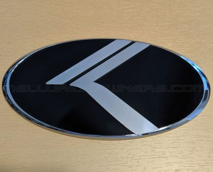 chrome vintage k badge emblem for kia telluride
