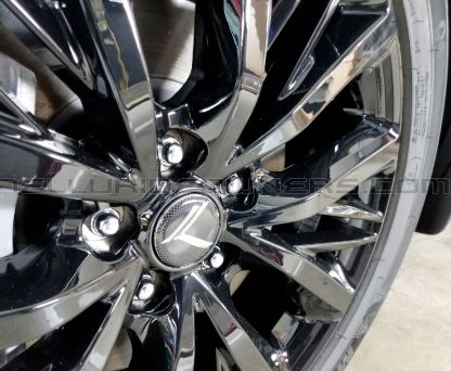 vintage k wheel cap overlay for kia telluride