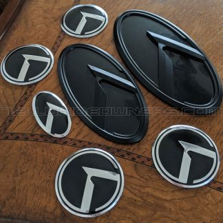 black klexus kia 3.0 emblems badges for the kia telluride