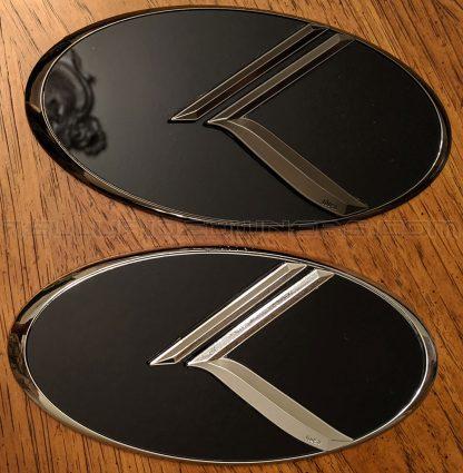 3d vintage k telluride emblem